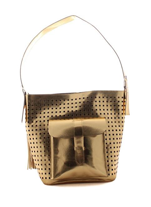 Gio&Mi Messenger / Askılı Çanta Altın